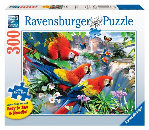 Ravensburger Tropical Birds - 300 Pieces Large Format Puzzle