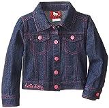 Hello Kitty Little Girls Sequin Applique Denim Jacket