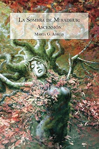 Portada del libro La Sombra de Miradhur de Marta G. Adrián