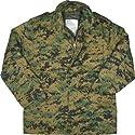 Digital Woodland Camouflage Marines M-65 Field Jacket 8590 Size 2X-Large