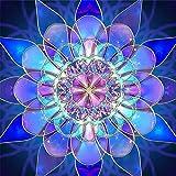 DIY 5D Full Drill Diamond Painting By Number Cross Stitch Diamond Mosaic Mandala Painting Handmade Kits Diamond Embroidery Painting Handmade Wall Painting Wall Art (FDM1016, L) (Color: Fdm1016, Tamaño: L)