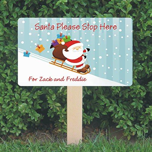 personalised-santa-stop-here-sign-santa-sleigh-design