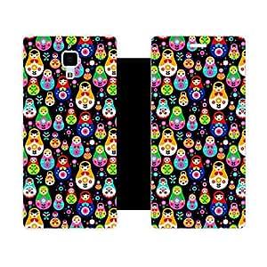 Phone Candy Designer Flip Cover with hi-res printed Vinyl sticker wrap-around for Xiaomi Mi4