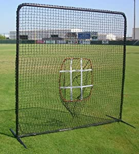 Strike Zone 7 X 7 Baseball Softball Practice Net & Frame Heavy Duty by Cimarron