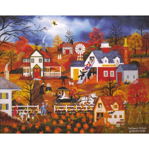 Cheap Wooster Scott Gifts Halloween Hi Jinks 500 Piece Jane Wooster Scott (B00553Y6PW)