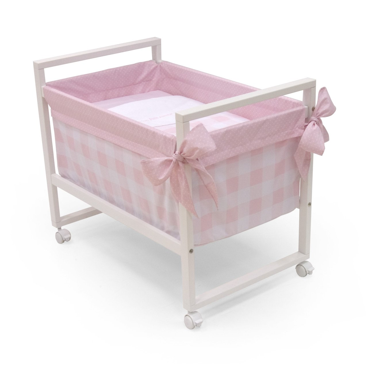 Cambrass Crib Next (56 x 90 x 73 cm, Bebe Pink)       Babyreview and more information