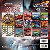Disney CARS 2010 WALL CALENDAR with BONUS DVD