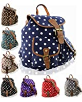 Kukubird POLKA DOT Backpack SPOTTY Rucksack School Bag