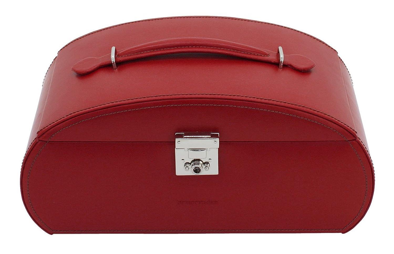 Friedrich|23 Damen-Schmuckkasten Cordoba Leder rot – 26480-4 online bestellen