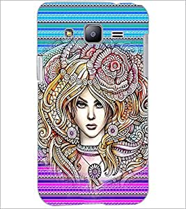 PrintDhaba Fantasy Girl D-6005 Back Case Cover for SAMSUNG GALAXY J2 (Multi-Coloured)