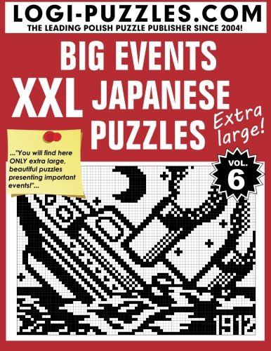 XXL Japanese Puzzles: Big Events (Japanese Number Puzzles compare prices)