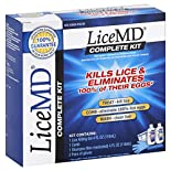 LiceMD Lice Killing Treatment, Complete Kit, 1 kit