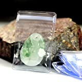 Self Seal Plastic Pack Bags Clear PVC Antitarnish Jewelry Rings Earrings Packing Storage Pouch Transparent Anti Oxidation Ziplock Jade Anti Tarnish Poly Pouch 100 Pcs (6x8cm (2.3x3.1 inch)) (Color: Clear, Tamaño: 6x8cm (2.3x3.1 inch))