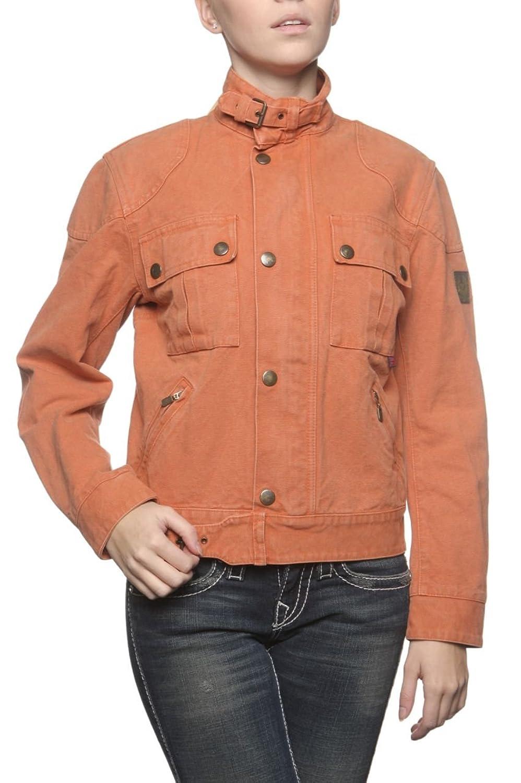 Belstaff Damen Jacke LAWRENCE, Farbe: Dunkelorange günstig kaufen