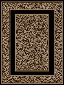 Amazon Com Animal Print Area Rugs 5x8 Carpet Cheetah