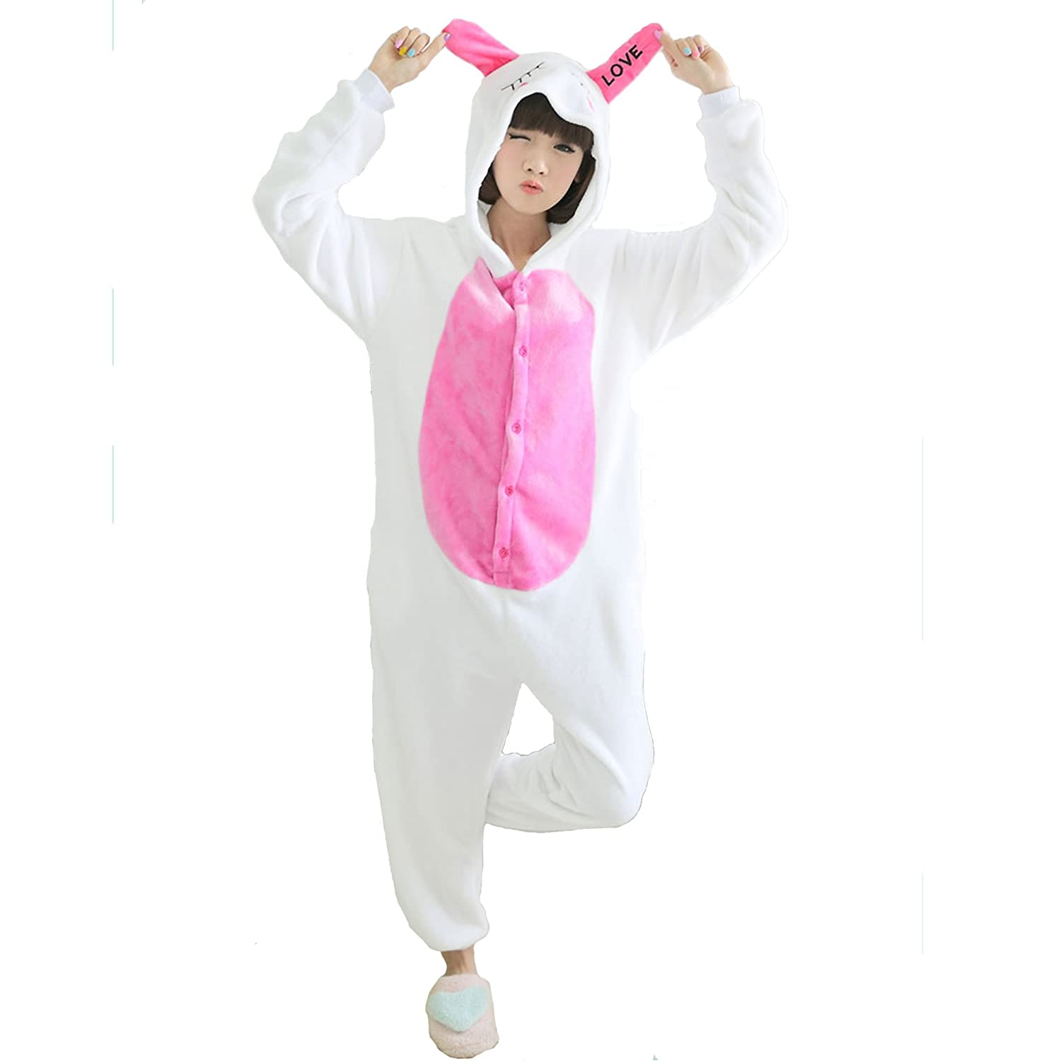 Pink Halloween Costumes For Adults Pink Bunny Halloween Costume