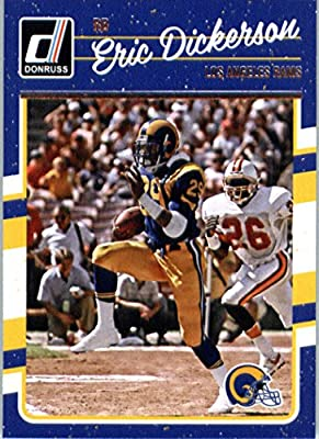 2016 Donruss #160 Eric Dickerson Los Angeles Rams Football Card-MINT