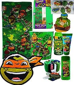 Amazon Com Teenage Mutant Ninja Turtles Mega Bathroom