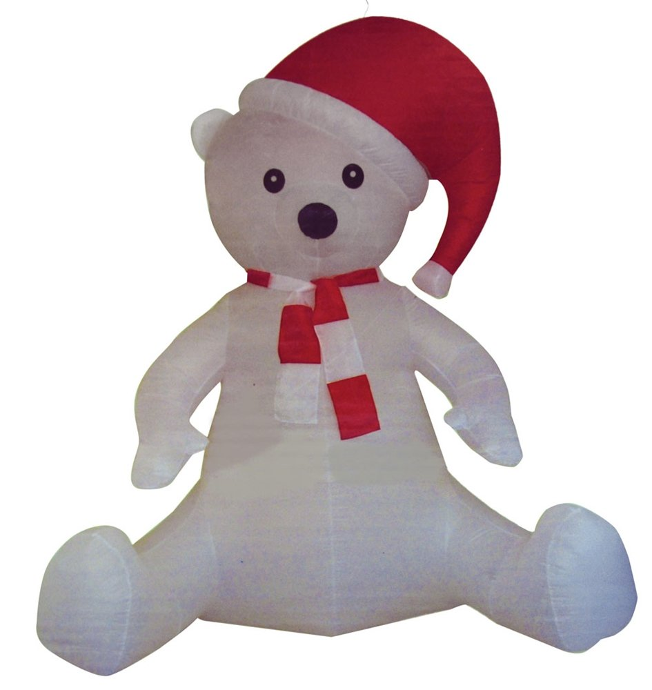 Gemmy Christmas 10 W Airblown Inflatable Winter Carolers: Christmas Outdoor Inflatables Page Three