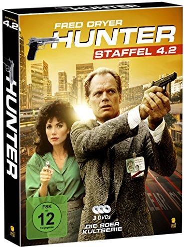 Hunter - Gnadenlose Jagd (Staffel 4.2 auf 3 DVDs im Digipack mit Schuber plus Episodenguide)