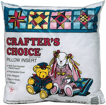 Crafter's Choice 100% Polyester Pillowform- 18 Inch x18 Inch