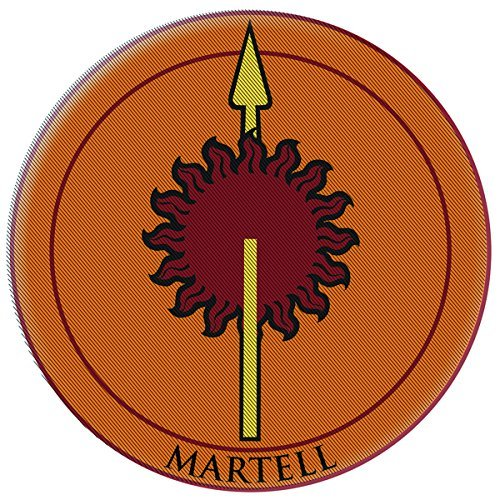 dark-horse-deluxe-game-of-thrones-embroidered-martell-patch-by-dark-horse-deluxe
