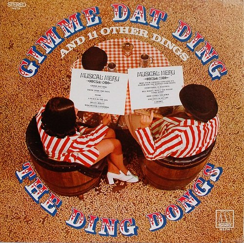 The Ding Dongs: Gimme Dat Ding And 11 Other Dings [Vinyl LP] [Stereo] [Cutout]