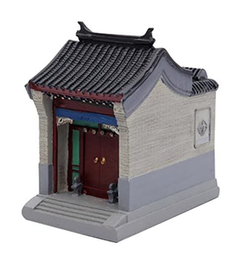 Caractéristiques Holder Maisons Crafts Huizhou Building Model Creative Pen