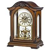 Bulova B1845 Durant Chiming Clock, Walnut (Color: Walnut, Tamaño: One Size)