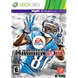 Madden NFL 13 - Xbox 360 by Electronic Arts  (Aug 28, 2012)