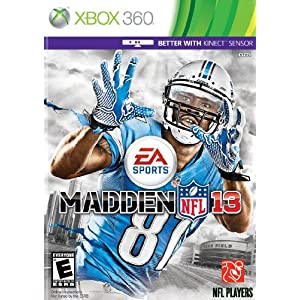 Madden NFL 13 XBox 360 Video Game