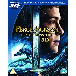 Percy Jackson: Sea of Monsters 3d [Blu-ray]