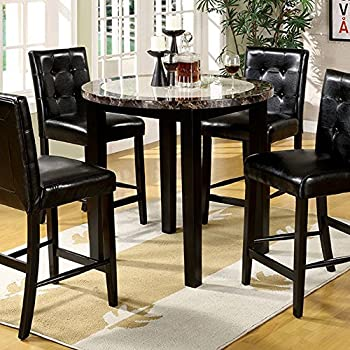 "Furniture of America CM3188PT-40 Atlas IV 40"" Round Counter Height Dining Tables"