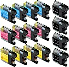 Skia Ink Cartridges ¨ 16 Pack Compatible with Brother LC101 / LC103(LC103BK LC103C LC103M LC103Y) for DCP-J152W, MFC-J245, MFC-J285DW, MFC-J450DW, MFC-J470DW, MFC-J475DW, MFC-J650DW, MFC-J6520DW, MFC-J6720DW, MFC-J6920DW, MFC-J870DW, MFC-J875DW