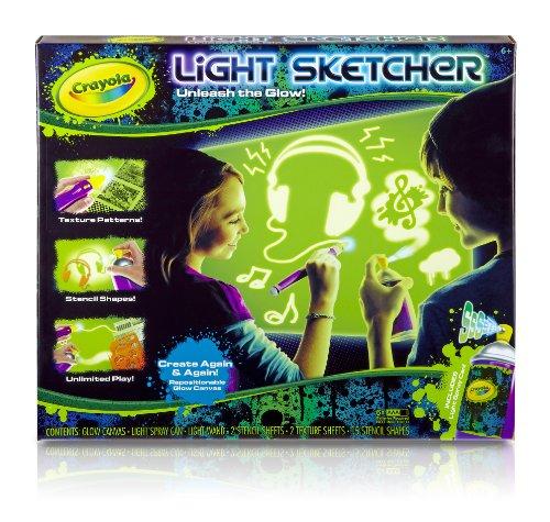 Crayola Light Sketcher with Glowfitti Spray Can
