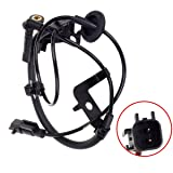 AUTEX ABS Wheel Speed Sensor Rear Right ALS1550 compatible with Mitsubishi Lancer 2009-2010 Replacement for Mitsubishi Outlander 2007-2011