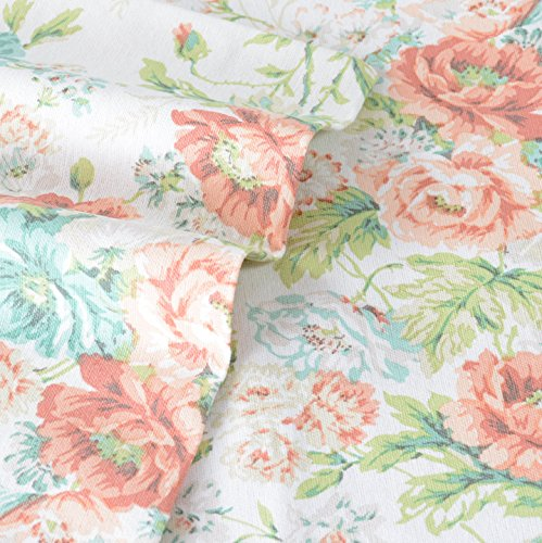Laura Ashley Flannel Queen Sheet Set: Laura Ashley Arundel Apricot Flannel Sheet Set, Queen Food
