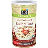 365 Everyday Value, Organic Old-Fashioned Rolled Oats, 18 Ounce (Tamaño: 18 OZ)