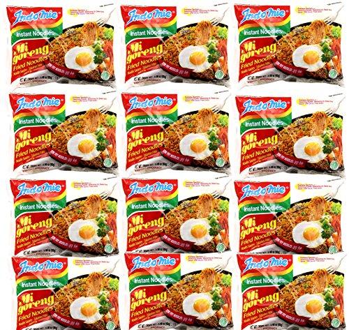 Indomie Goreng Fried Noodles for 1 Case (30 Bags)