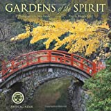 Gardens of the Spirit: Photography by John Lander 2015 Wall Calendar