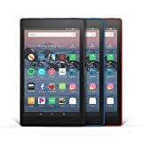 Fire HD 8 3-Pack, 32GB - Includes Special Offers (Black/Marine Blue/Punch Red) (Color: Black/Marine Blue/Punch Red)