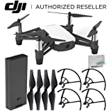 Ryze Tello Quadcopter Drone with HD camera and VR - powered by DJI technology and Intel Processor Starters Bundle (Color: Base, Tamaño: A) Starter)