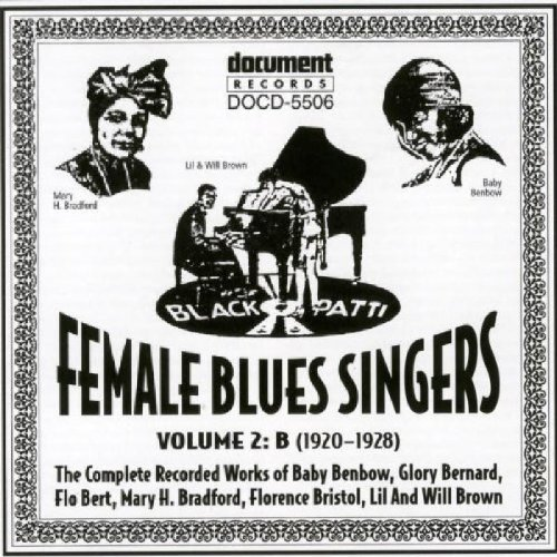 Female Blues Singers, Vol. 2: 1920-28 (Jazz Female Singers compare prices)