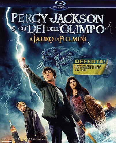 Percy Jackson e gli dei dell'Olimpo - Il ladro di fulmini (+DVD) [Blu-ray] [IT Import]