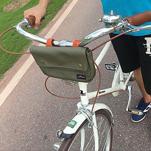 Tourbon Bicycle Handlebar Bag Front Bike Panniers 4