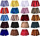 Two Assorted Madras Silk Boxers by Royal Silk - XXL (39-40) - 100% Silk