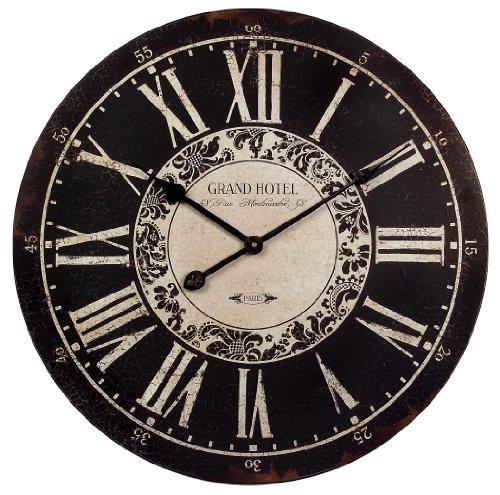 Pendulum Wall Clocks Buy Large Decorative Wall Clock La Rochelle Black