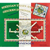 Double 15 Numeral Mexican Train Dominoes with 2-in-1 Hub