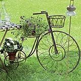 Pflanzkorb-Fahrrad-Deko-Pflanzfahrrad-Trike-L100cm