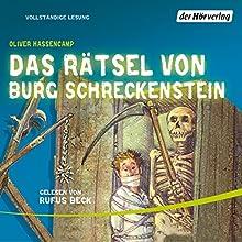 Das Rätsel von Burg Schreckenstein (Burg Schreckenstein 5) Hörbuch von Oliver Hassencamp Gesprochen von: Rufus Beck